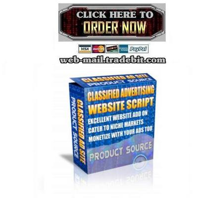 Pay for Classified Advertising Website Script