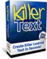 Thumbnail Killer Text Graphics