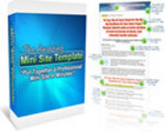 Thumbnail The Amazing Mini Site Template