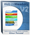 Thumbnail Web 2.0 Headers  MRR