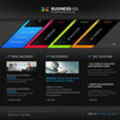 Thumbnail Business Company Flash Website Template With Source Files