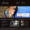 Thumbnail Haar Salon - Firmen Flash Website mit Quelldateien
