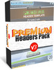 Thumbnail Premium Headers Pack V3 - Video Tutorial - Font List & MRR