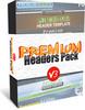 Thumbnail Premium Headers Pack V3 - Video Tutorial - Font List & MRR