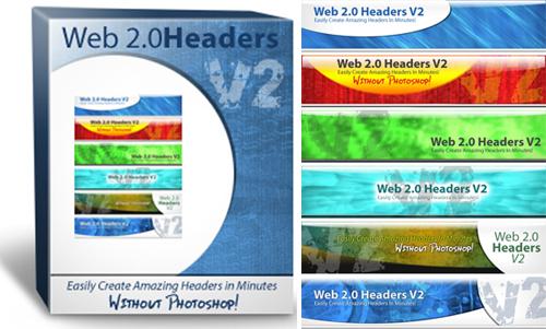 Pay for Web 2.0 Headers V2 - MRR