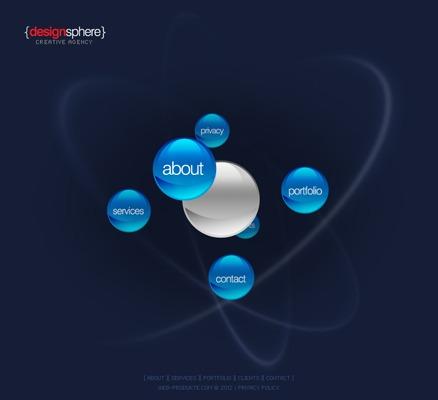 Pay for Design Sphere - Flash Website mit Quelldateien - MRR