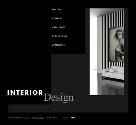 Pay for Interior Design - Flash Web Template mit Quelldateien