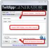 Thumbnail  Twitter App Generator
