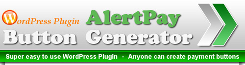 Pay for WordPress Plugin - AlertPay Button MRR