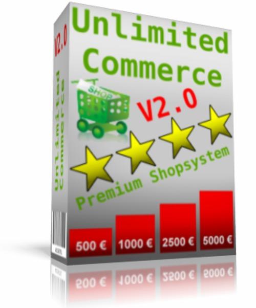 Pay for Unlimited Commerce V2 MP - Downloadshop System