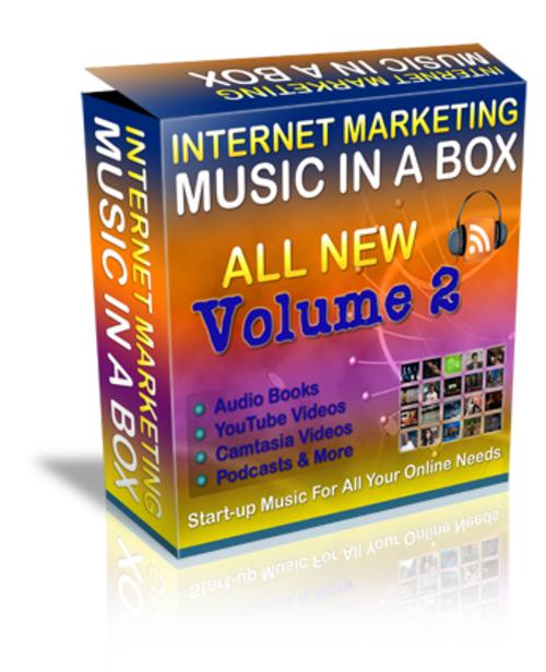 Pay for 250 Internet Marketing Music Files V2
