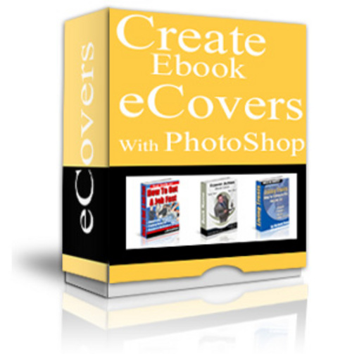 Thumbnail Create Ebook Ecovers With Photoshop with PLR