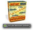 Thumbnail Instant Ideas For High Profit Info Products