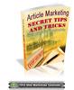 Thumbnail Article Marketing Secret Tips And Tricks