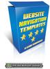 Thumbnail Website Navigation Templates