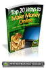 Thumbnail Top 20 Ways To Make Money Online