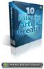 Thumbnail 10 Minute Article Creator