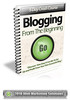 Thumbnail Blogging From The Beginning