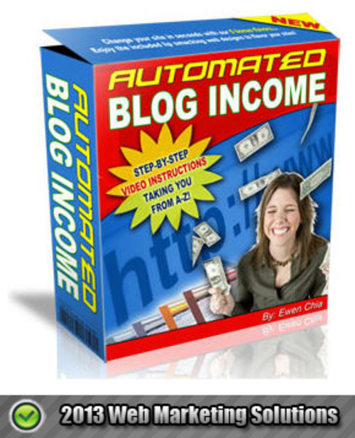 Pay for Automated Blog Income