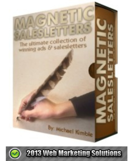 Pay for Magnetic SalesLetters