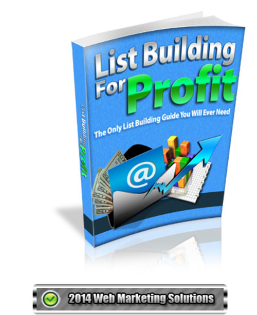 Pay for List Building For Profit