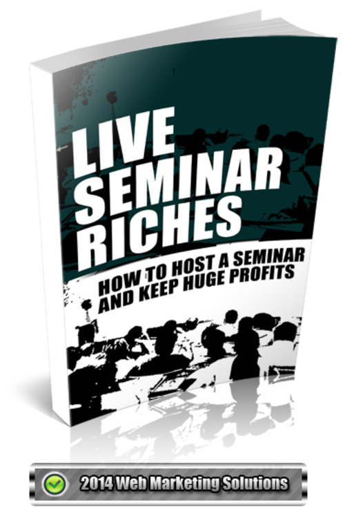 Pay for Live Seminar Riches