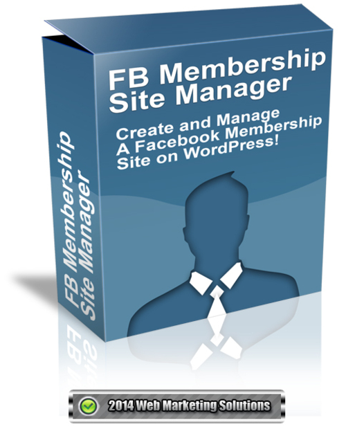 Pay for FB Membership Site Manager