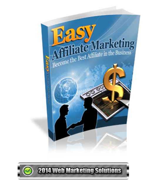 Pay for Easy Affiliate Marketing