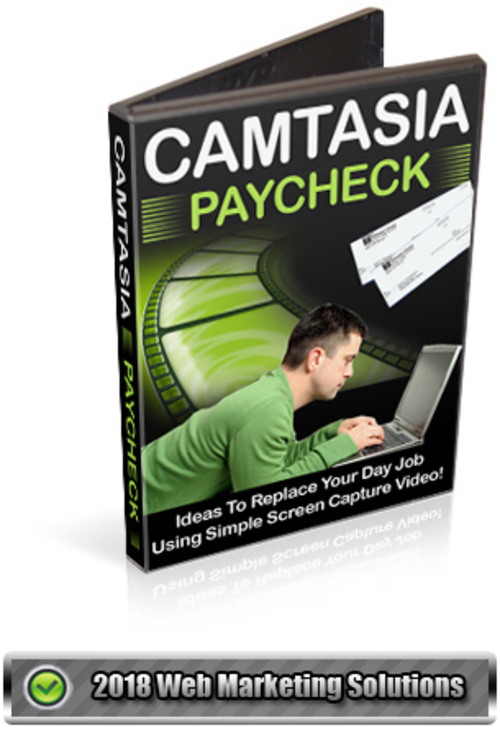 Pay for Camtasia Paycheck