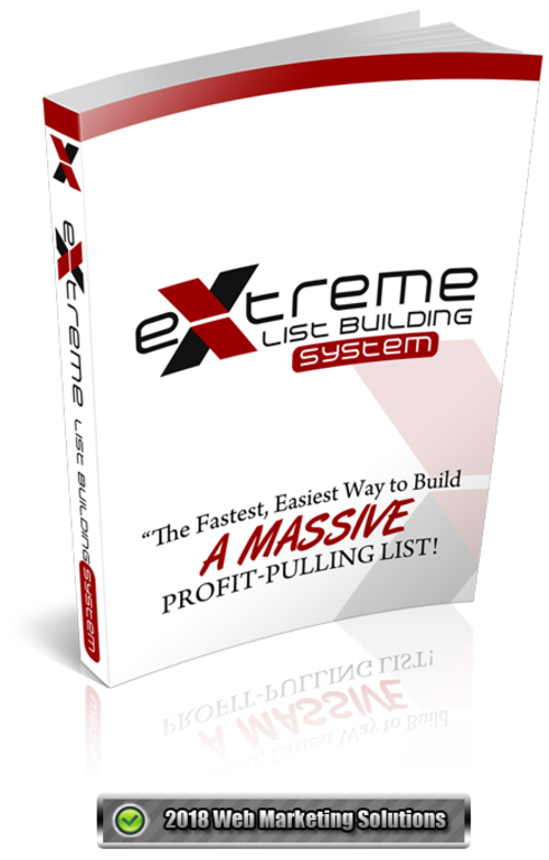 Pay for Extreme List Building System