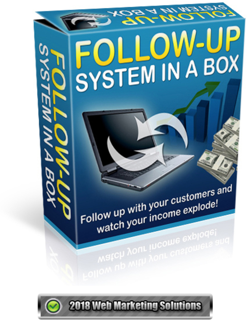Pay for Follow-Up System In A Box