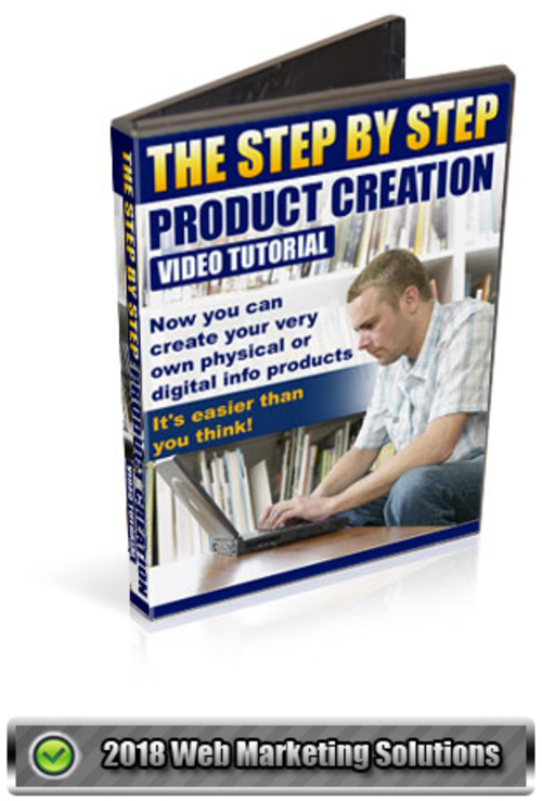 Pay for The Step By Step Product Creation Video Tutorial
