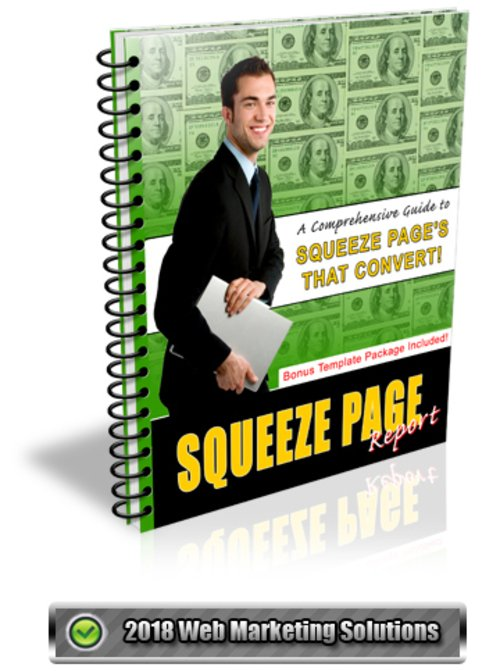 Pay for Squeeze Page Report