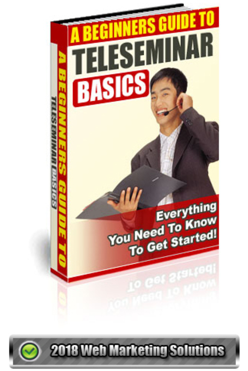 Pay for A Beginners Guide To Teleseminar Basics