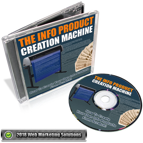 Pay for The Info Product Creation Machine