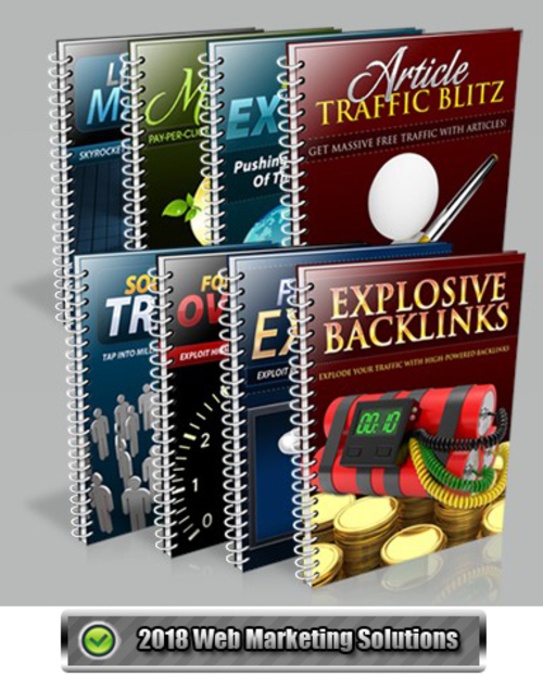 Pay for Traffic Mastery PLR Collection