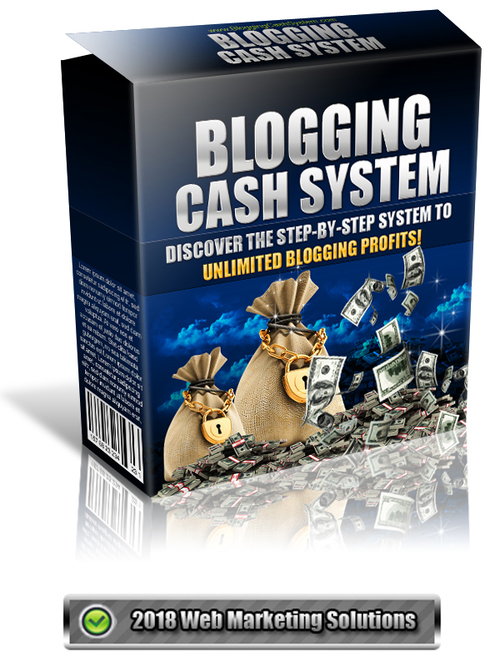 Pay for Blogging Cash System