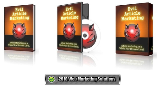 Pay for Evil Article Marketing