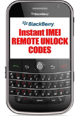 Pay for Instant Blackberry 7250 Unlock Code
