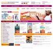 Thumbnail Online books store templates
