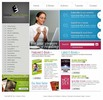 Thumbnail Online books library store templates