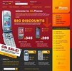 Thumbnail Mobile shop online store theme