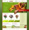 Thumbnail flowers online store templates