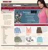 Thumbnail woman clothes online store templates