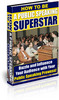 Thumbnail How to be a Public Speaking Superstar ebooks