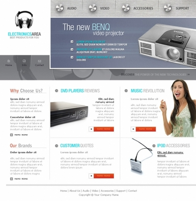 Pay for computer store templates
