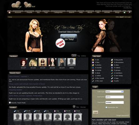 Pay for sexyixora Dolphin V7.0 Boonex Templates