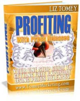 Pay for Profiting With Press Releases ebooks