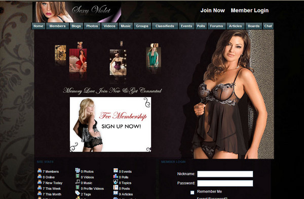Pay for SexyViolet Templates Dolphin V6.1.6