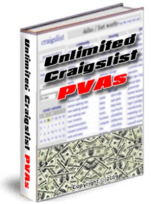 Pay for Create Unlimited Craigslist PVA